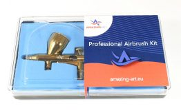 AIRBRUSH DESIGN GOLD Nozzle 0, 2 mm